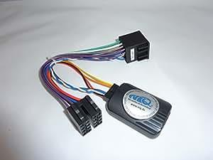 connects2 adaptateur de commande au volant peugeot 206 307 406 607 807 et partner pour autoradio. Black Bedroom Furniture Sets. Home Design Ideas