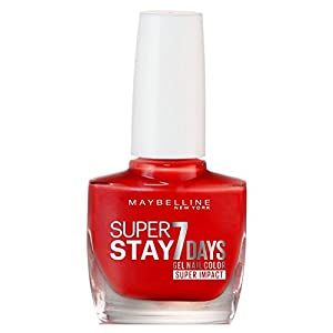Maybelline Superstay 7 Days Super Impact Nail Color 884 Non-Stop Orange 49g