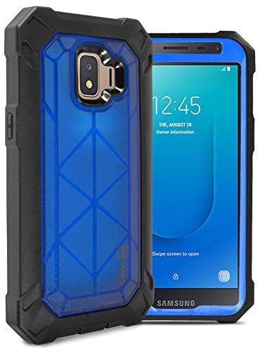 CoverON VitaCase Series Schutzhülle für Galaxy J2, Galaxy J2 Core, strapazierfähige Schutzhülle für Samsung Galaxy J2 Pure / J2 Dash / J2 Core, blau T-mobile Dash-serie