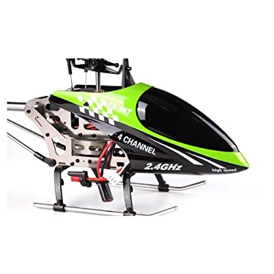 s Idea® 01154 FX078B 4.5 Channel 2.4 GHz Heli Helicopter RC Remote Controlled Helicopter Rc Helicopter Helicopter with Gyroscope and 2.4 GHz Technology Brand New, for Indoors and Outdoors with Built-in Gyro 2.4 Ghz Controller Ready to Fly. by s-idee®