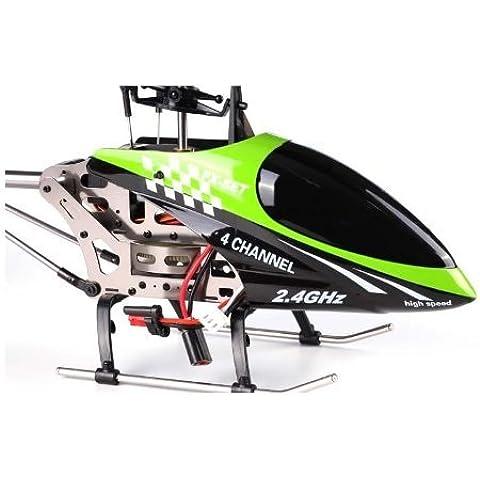 S de Idea® 01154| FX078B 4.5canales, 2,4GHz Heli helicóptero RC helicóptero teledirigido/helicóptero/Heli con técnica de giroscopio + 2,4GHz Tecnología. Para Interior Y Exterior. Con Gyro integrado y 2.4GHz control. Volar.