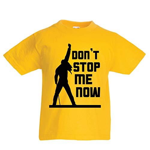 Baseball-mom-mädchen T-shirt (lepni.me Kinder Jungen/Mädchen T-Shirt Don't Stop me Now! Fan Shirts, Musiker Geschenke, Rock Kleidung (12-13 Years Gelb Mehrfarben))
