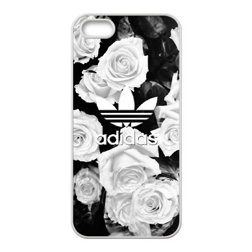 Adidas S3M8Av iPhone 5 5S 5SE Handy-Fall Hülle Weiß J1O8WJ Einzigartige Handy-Fall Hülle für Männer (Iphone 5s Fall Cool)