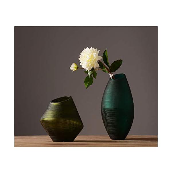 NICEWL Simulación De Flores Artificiales Dalia Decoración-Ramo Hecho A Mano Arreglo Floral Plantas En Maceta, Adornos De…