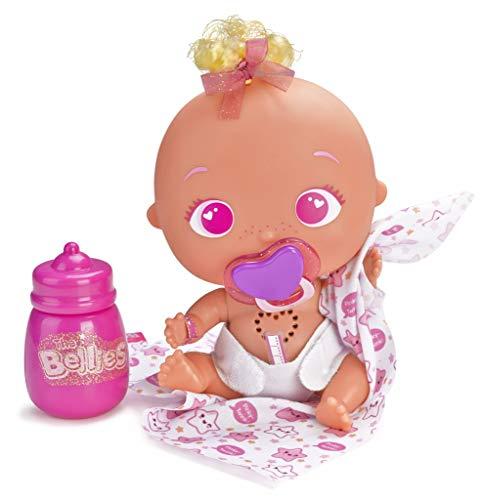 The Bellies Pinky Twink muñeco Interactivo para niñas de 3 a 8 años (Famosa 700014563)