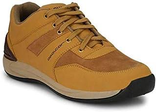 LAYASA Mens Brown Casual Shoes