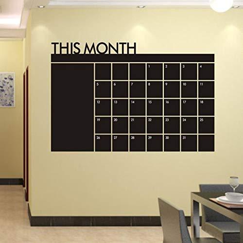 Wandaufkleber Super Deal 2015 Wohnkultur Wandtattoos Monat Plan Kalender Tafel Vinyl Wanddekoration Vinilos Paredes Hym02 (2015 Kalender-tafel)