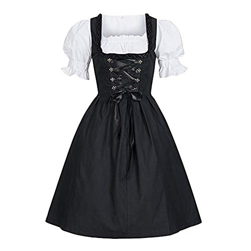 GladiolusA Donne Abito Medievale Rinascimento Abiti Travestimento Cosplay Costume Bianco 5XL