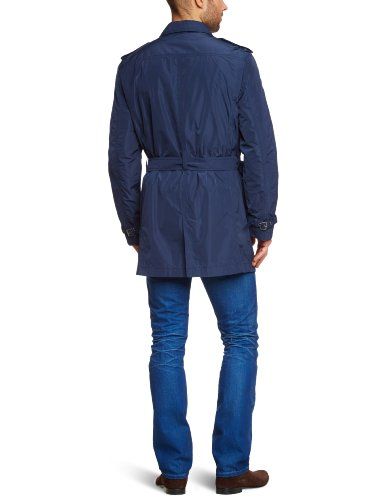 OTTO KERN Herren Trench Coat Regular Fit 29220 / 6132 Blau (28 )