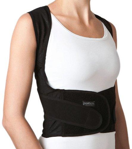 Swedish Posture Position Gurtsystem zur Verbesserung der Körperhaltung L schwarz