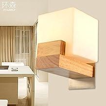 sjun de modernos y sencillos Madera Muebles lámpara de pared Iluminación decorativa LED de escaleras Piso Salón comedor dormitorio de la cama