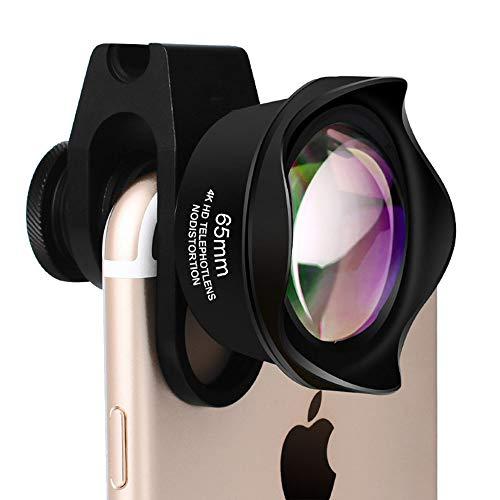JZWDMD Handy Objektiv Set,Universal HD Handy Kamera Lens Kit mit 2.5X Teleobjektiv Linse Professione Clip-on Kamera Adapter für iPhone Samsung Huawei HTC etc