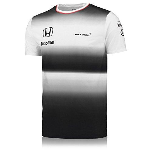 McLaren T-Shirt Honda Officielle 2016 Fernando Alonso 6079180258a