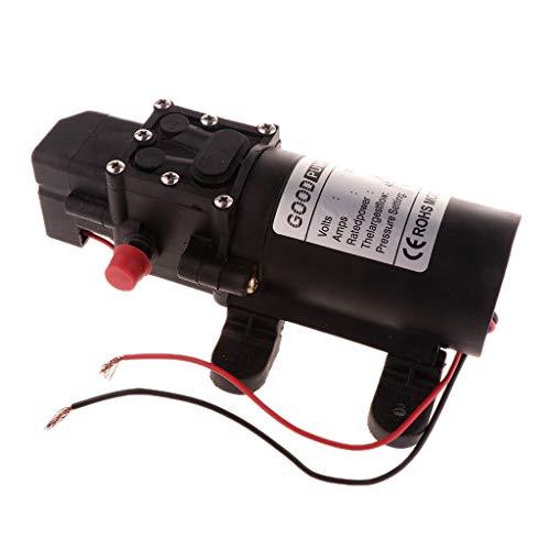 Homyl DC 12V Hochdruck Elektrische Membranpumpe Wasserpumpe Mikromembran Pumpe 4L/ min - A