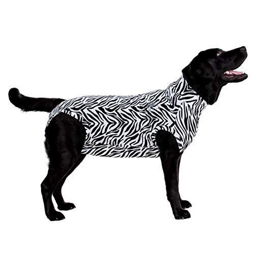 Medical Pet Shirt, Zebra, für Extra Kleine Hunde