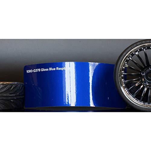 Preisvergleich Produktbild 3M 1080 Gloss Blue Raspberry / G378 / Vinyl CAR WRAP Film (5ft x 40ft (200 Sq / ft)) w / Free-Style-It Pro-Wrapping Glove