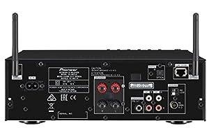 Pioneer X-HM72-K Micro-HiFi System (2x 50 Watt, WiFi, Bluetooth, DLNA, Spotify Connect, App Control, 8,9 cm (3,5 Zoll) Display) schwarz