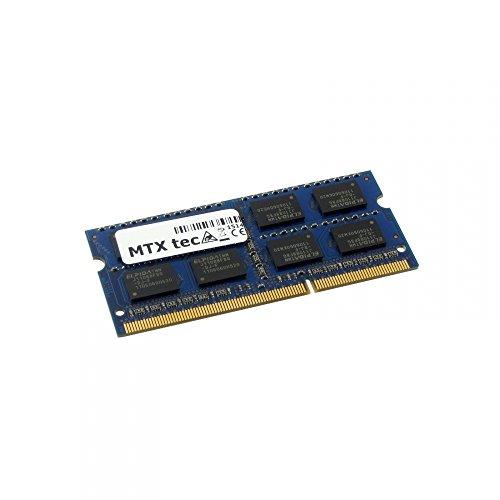 1066 Mhz Laptop Arbeitsspeicher (MTXtec 2GB Notebook Arbeitsspeicher SODIMM DDR3 PC3-8500, 1066MHz, 204 Pin RAM Laptop-Speicher)