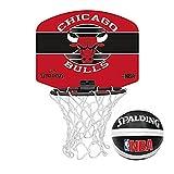Offizielle lizenziert Spalding Team Miniboard basketball set (Chicago Bulls)
