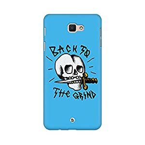 Mobicture Back To The Grind Printed Phone Back Case for Samsung J5 Prime