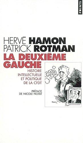 La Deuxième Gauche : Histoire intellectuelle et politique de la CFDT por Hervé Hamon
