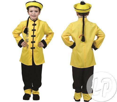 Chinese Kostüm Kinder Japaner Gr. (Asiatische Kostüm Zubehör)