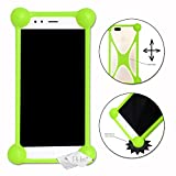 Shockproof Silicone Bumper Case for Medion Life P5005 Green