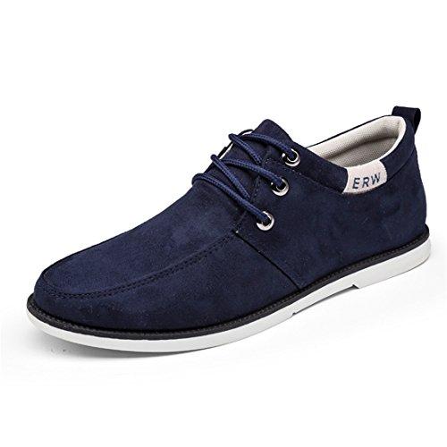 ZhHuaWy Chaussure de Ville Homme Mocassin Adulte Bleu