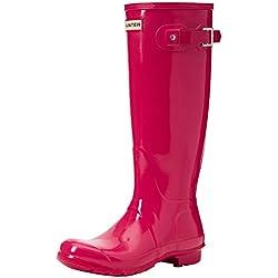 Hunter High Wellington Boots, Botas de Agua para Mujer, Rosa (Pink Rbp), 37 EU