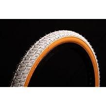 'Lucky Stone Curio blanco w/Gumwall neumático de bicicleta 20x 2,125LS214rampa STREET hilo