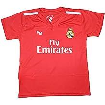b5a7ed3410c62 Camiseta Junior Real Madrid - Replica Autorizada - Courtois 25 (10 Años)