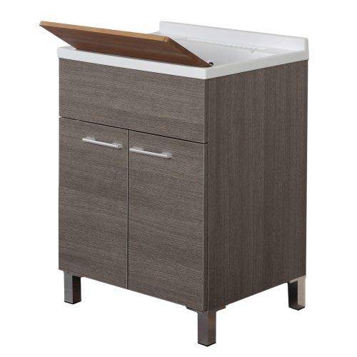 Feridras mondo lavatoio, legno, marrone, 50x60x83 cm