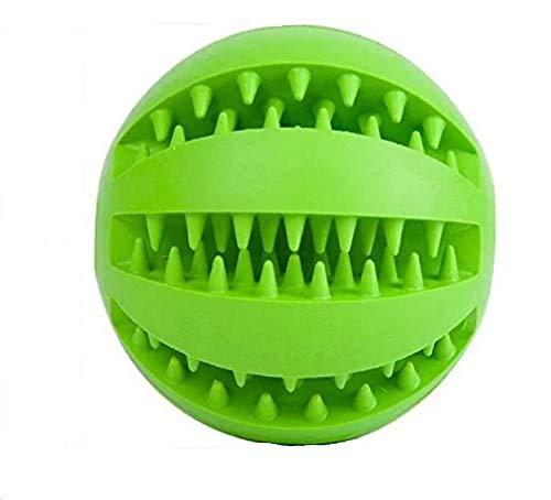 pet-ti-cute Dentaball Hunde-Ball * ORIGINAL USA * Hunde-zahnbürste zähne robust welpen Hunde-Spielzeug kleine große Hunde Zahnpflege Zahnstein ungiftig Kauspielzeug Zahnreinigung -