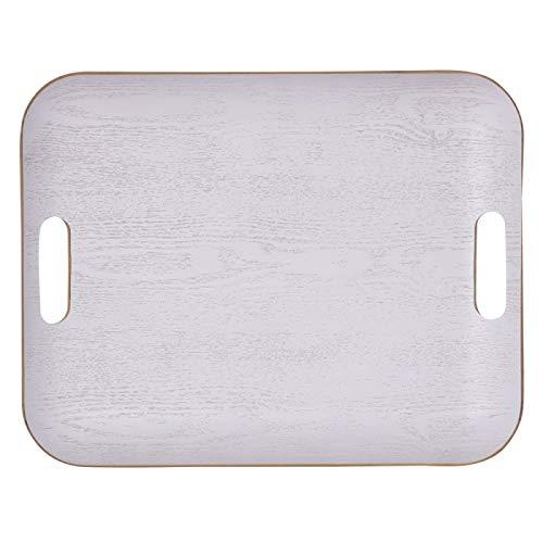 Plateau rectangle 45 x 36 Classic blanc