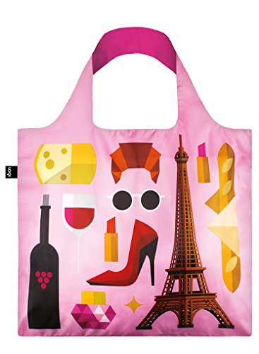 LOQI Bag HEY Paris: 50 x 42cm (Tasche Paris)