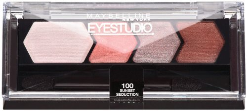 Maybelline New York Eye Studio Color Plush Silk Eyeshadow, Sunset Seduction 100, 0.09 Ounce by...
