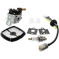 Confronta prezzi BESTOMZ Carburatore Rebuild Kit con Aria Filtro Carburante Linea Gas Lampadina per ECHO SRM-210 - Utensili elettrici da giardino - Confronta prezzi