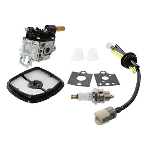 bestomz carburador Rebuild Kit con aire filtro combustible Linea Gas Bombilla para Echo srm-210 preisvergleich