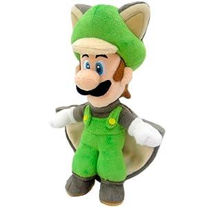 Super Mario Bros. Felpa Figura muñeca Pluch Ardilla voladora Luigi 38 cm Juntos Plus - Peluche Luigi Ardilla voladora… 8