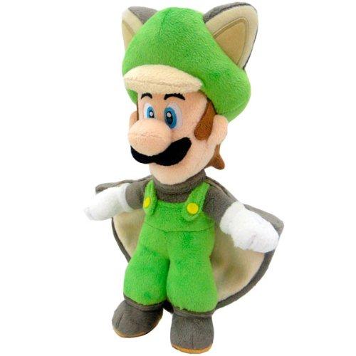 Super Mario Bros. felpa figura muñeca Pluch ardilla voladora Luigi 38