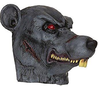 9Zombie Ratte Maske, eine Größe (Evil Dead Halloween-kostüm)