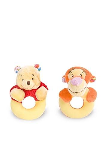 Tigger & Pooh soft baby rattle