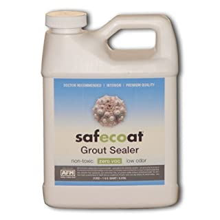 Afm Safecoat Grout Sealer, White 32 Oz. Can 1/Case by AFM Safecoat