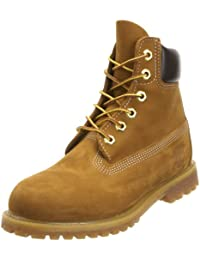 Timberland Af 6In Prem Annivrsr Yellow - Botas tacón, color: Amarillo (Wheat Burnished)