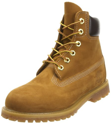Timberland 6inch Premium Rust Leather Womens Boots Size 6 UK