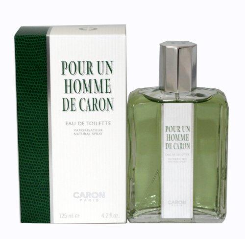 POUR UN HOMME von Caron für Herren. EAU DE TOILETTE SPRAY 4.2 oz / 125 ml -