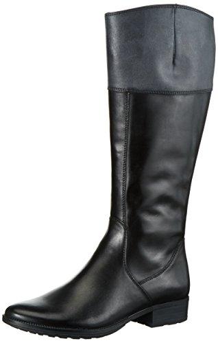 Tamaris 25500, Bottes Hautes Pour Femmes Black (blk / Graphite 050)