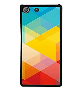 HiFi High Glossy Designer Phone Back Case Cover Sony Xperia M5 Dual :: Sony Xperia M5 E5633 E5643 E5663 ( Colorful Pattern Design )