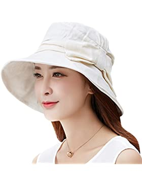 SIGGI Womens Bucket Boonie Pesca Cap Verano Playa Sol sombra sombrero Spf 50