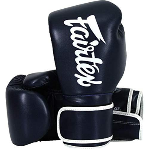 Fairtex Boxing Gloves BGV14 Blue - Muay Thai Kickboxing MMA Training Boxing Equipment Gear for Martial Art-16oz Guantone da Box Guantoni